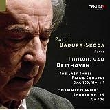 Beethoven: Last 3 Piano Sonatas [Paul Badura-Skoda] [Genuin: GEN 14331]
