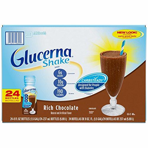 Glucerna Chocolate, 24 pk./8 oz. (pack of 2) by Glucerna