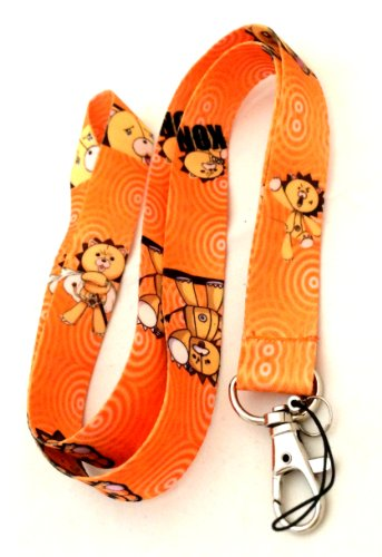 Bleach-Kon-Anime-Fashion-Lanyard-Key-Chain-Holder