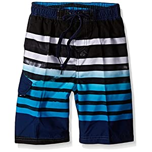Kanu Surf Boys' Big Reflection Quick Dry UPF 50+ Beach Swim Trunk