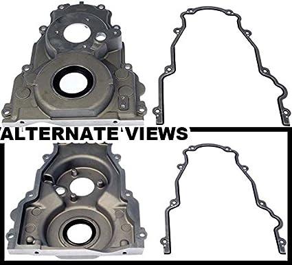 Amazon com: APDTY 746628 Timing Cover Kit w/Crankshaft Seal