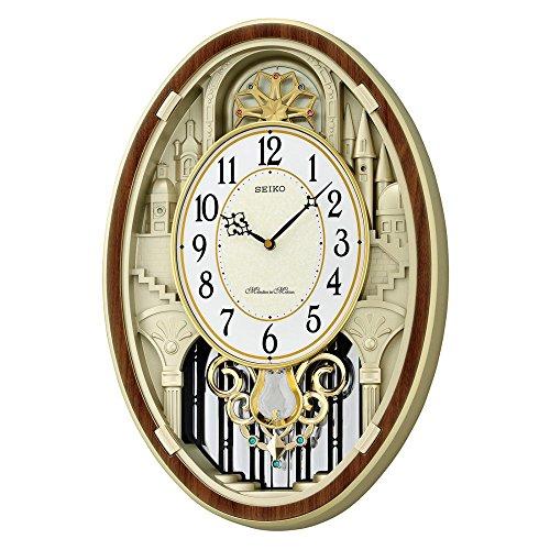- Seiko QXM369BRH Japanese Quartz Wall Clock
