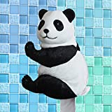 WLWWY Panda Decorative Toilet Paper Holder In Lovely As Bathroom Decor Wall Plaques, Sculptures And Novelty Bath Accessories Gifts