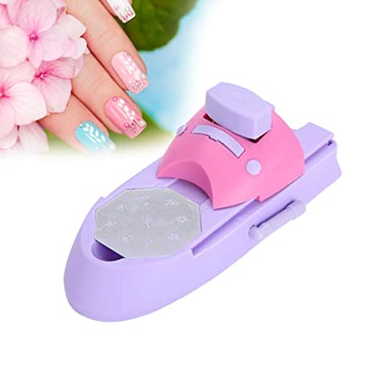 uñas Impresión Eléctrica Stamper Manicura Nail Art Impresora ...