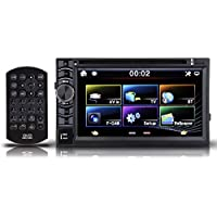Double DIN 6.2 Car Stereo Radio FM/USB/SD Bluetooth CD DVD Player Touch Screen