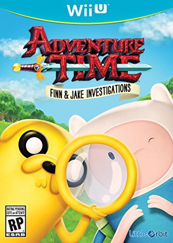 Adventure Time Finn and Jake Investigations - Wii - Common Woodbury Outlet