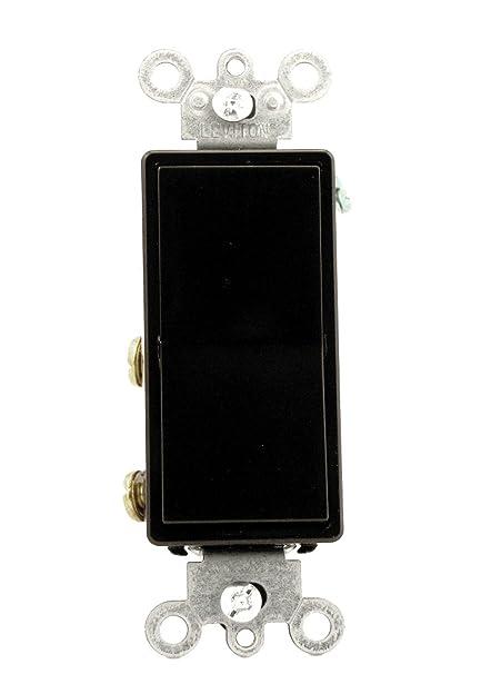 Leviton 5604-2E 15 Amp, 120/277 Volt, Decora Rocker 4-Way AC Quiet ...
