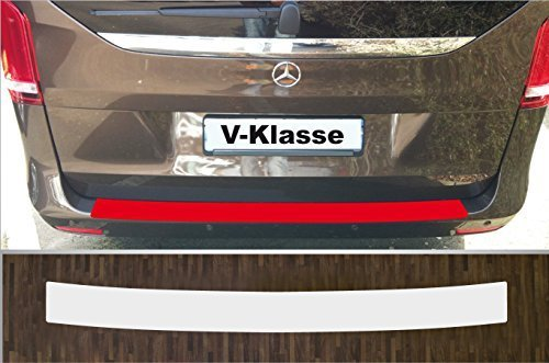 Lackschutzfolie Ladekantenschutz transparent passgenau f/ür Mercedes V-Klasse Vito W447 ab 2014