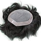 Stylazo Human Hair Patch,Human hair Toupee, Men Wig