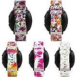 honecumi For Samsung Gear Sport Soft Silicone Sport Quick 20mm Smart Watch Bands Release Watch Strap Wristband for Samsung Gear 2 Classic/Huawei Watch 2 Watch/Garmi Vivoactive 3