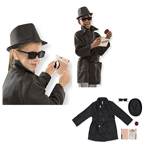 Child Role Play Spy Set Costume - Ages 5-8 - Get Smart - Inspector Gadget