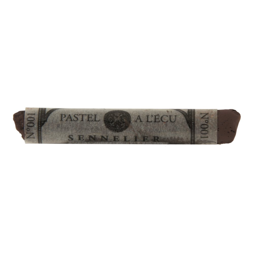 Sennelier Extra Soft Pastel Black Brown 001 Global Art Supplies