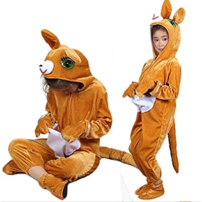 Children's Animal Costumes Hooded Fancy Dress Party Outfit Pajamas Cosplay: Clothing