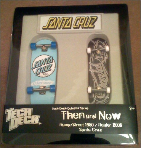 Tech Deck Santa Cruz Then and Now by Spin Master