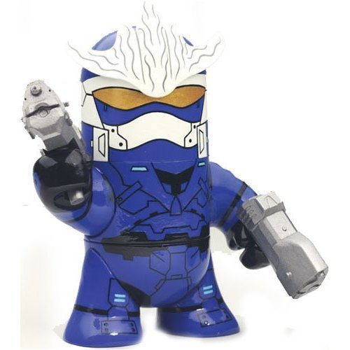 Halo 3 McFarlane Toys Odd Pods Series 2 Stylized Figure Spartan Hayabusa [Blue] (Halo Odd Pods)
