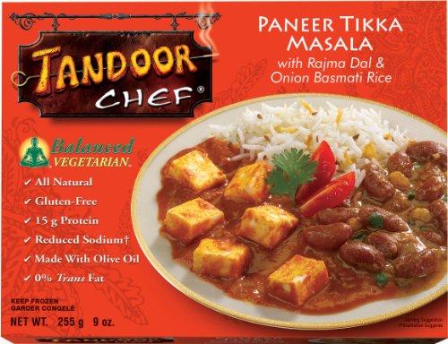 - Tandoor Chef Paneer Tikka Masala with Rajma Dal and Onion Basmati Rice, 9-Ounce Boxes (Pack of 12)