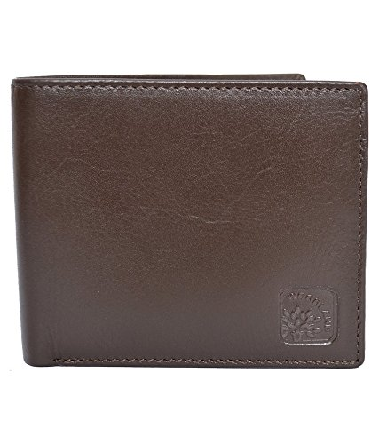 Woodland Men #39;s Brown Casual Leather Wallet