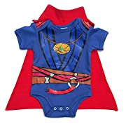 Knitwits  Baby Strange  Onesie and Cape Bundle Outfit (6-12 Months)