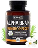 Onnit Labs Alpha Brain Labs Advanced Brain Booster Nootropic Capsules, 30 Count