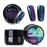 Amazing Color-Changing Effect UV Gel Polish,Belen Soak Off Chameleon Nail Gel Polish,Manicure Pedicure Nail Art Polish Professional Salon 5g 3012