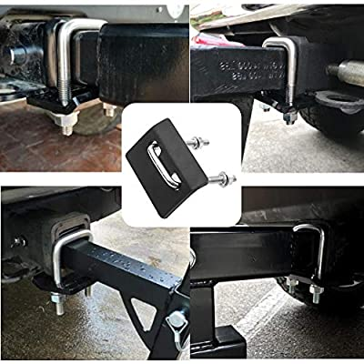 Bentolin Anti-Rattle Stabilizer Hitch Tightener for 1.25 inch and 2 inch Hitches, Corrosion Resistant Heavy Lock Down Tow Clamp: Automotive