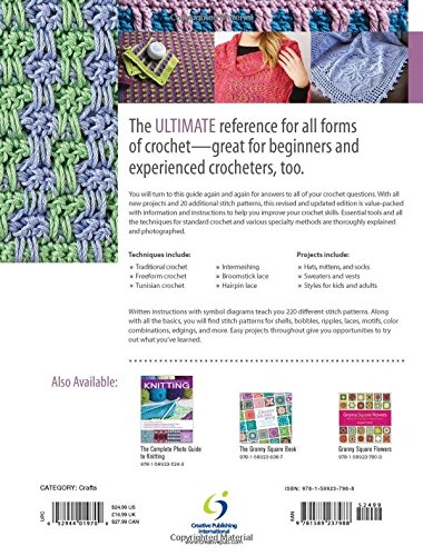 The Complete Photo Guide To Crochet 2nd Edition All You Need To