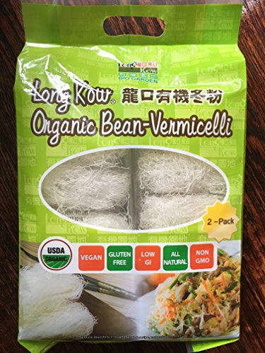 Long Kow Organic Bean-vermicelli 2 Ct 29.6 Oz Total (pack of 1) ()