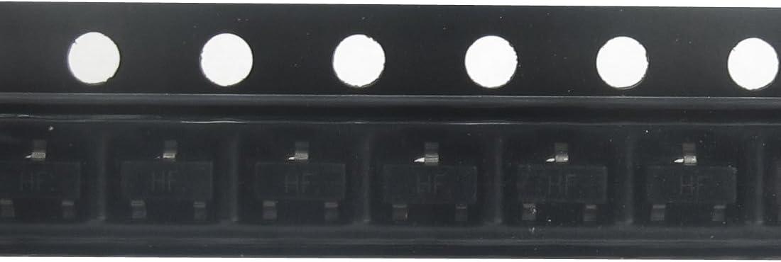 Aexit 50Pcs C1815 Transistors SOT-23 Plastic-Encapsulate SMD Transistors 60V MOSFET Transistors 0.15A 0.2W