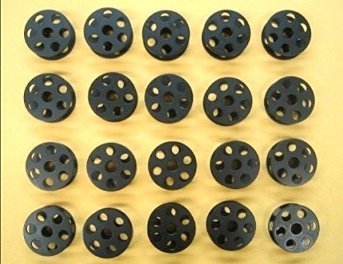 Cutex Brand 20 Large Size Industrial Sewing Bobbins for Juki Lu-563 Sewing Machine (Juki Lu 563 Walking Foot Industrial Sewing Machine)