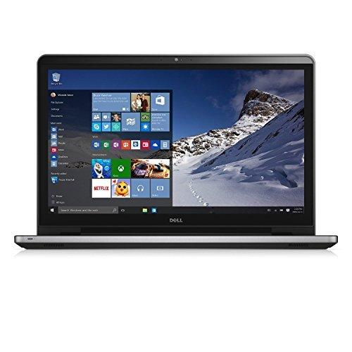 """Dell Inspiron 17 i5759-8837SLV - 17.3"""" FHD Touchscreen Laptop - Intel i7-6500U Skylake, 16GB RAM, 2TB HDD, AMD Radeon R5 M335, Windows 10 - Silver"""