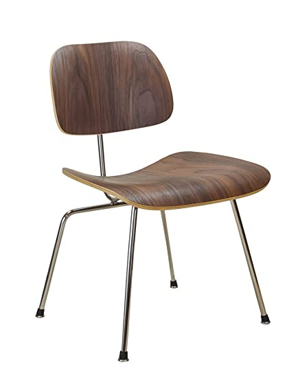 sc 1 st  Amazon.com & Amazon.com - Eames Style Molded Plywood Dining Chair - Chairs