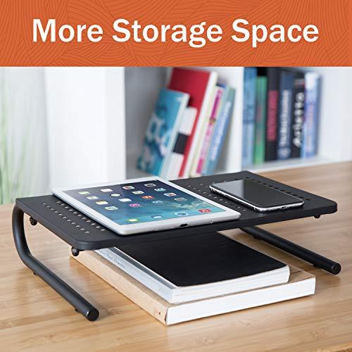 PUTORSEN® Métal Moniteur Stand - Support Ordinateur Portable, Support Ecran PC 4\