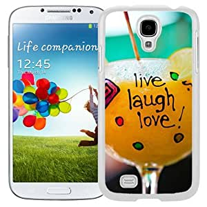 Live Laugh Love (2) Durable High Quality Samsung Galaxy S4 I9500 Case