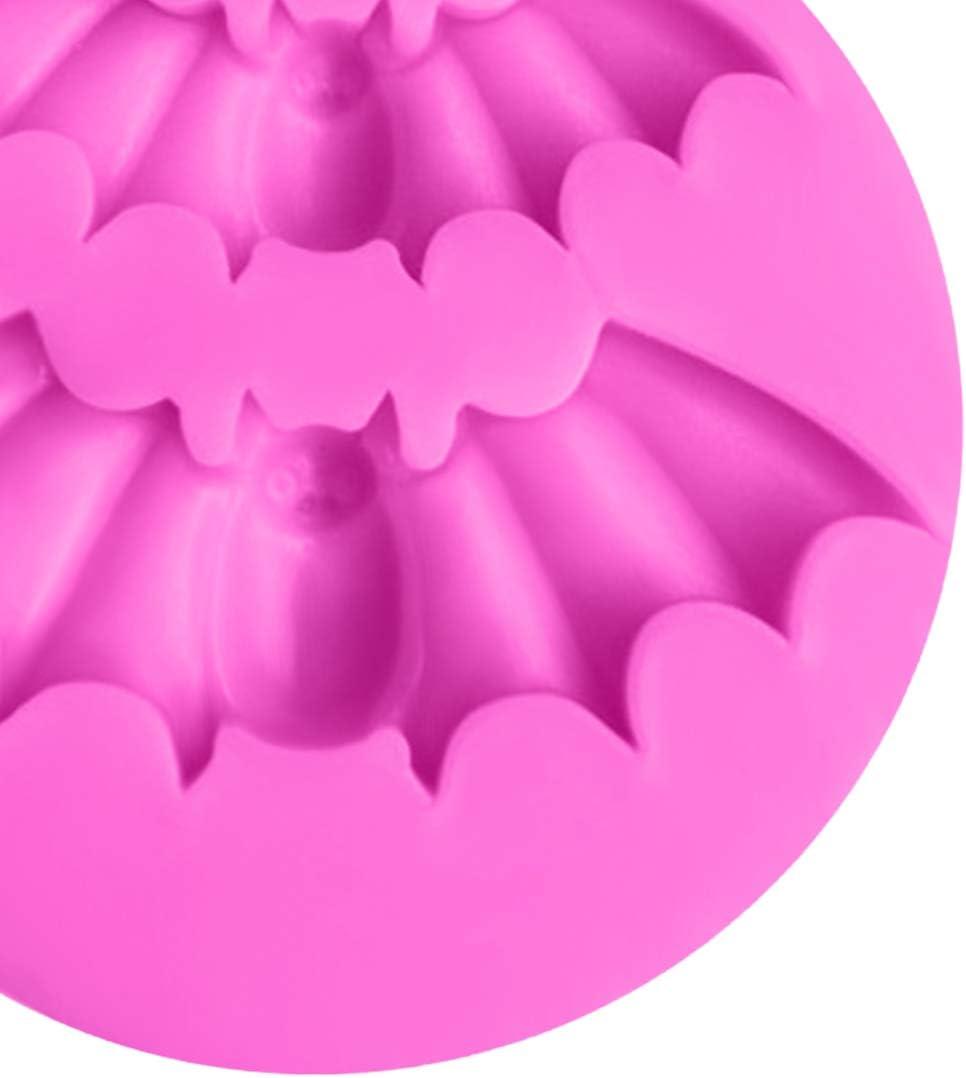 UU19EE Fimo Argile Moule 1 PC Halloween Chauves-Souris Forme Silicone Chocolat Savon Moule De Cuisson Au Four Outils De D/écoration De G/âteau Cuisine Cuisson P/âtisserie