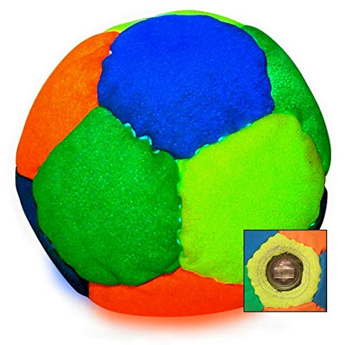 World Footbag Glow-in-The-Dark LED GloStar Hacky Sack Footbag