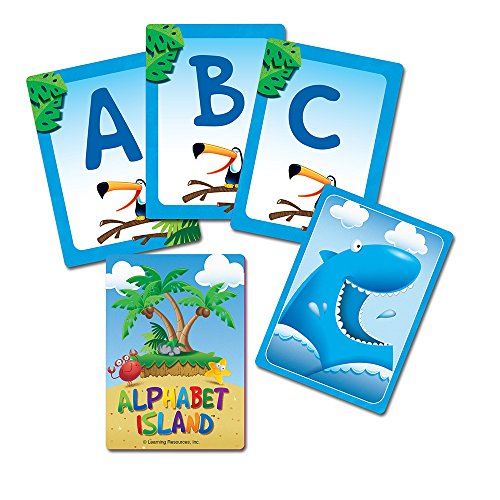 51P1 9297dL - Learning Resources Alphabet Island A Letter & Sounds Game