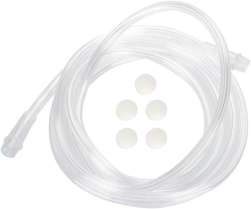 Cimenn Accesorios para inhaladores Juego de Accesorios para inhaladores para niños Adultos Boquillas de Copa de compresor nebulizador médico(02)