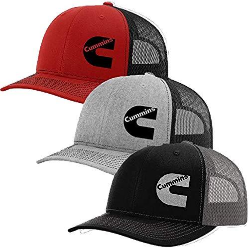 30f71644ab5 Cummins Diesel Snapback Trucker Hats 112 (Orange Black) at Amazon Men s  Clothing store