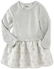 تنورة من قماش الجاكار للفتيات الصغيرات من كالفن كلاين