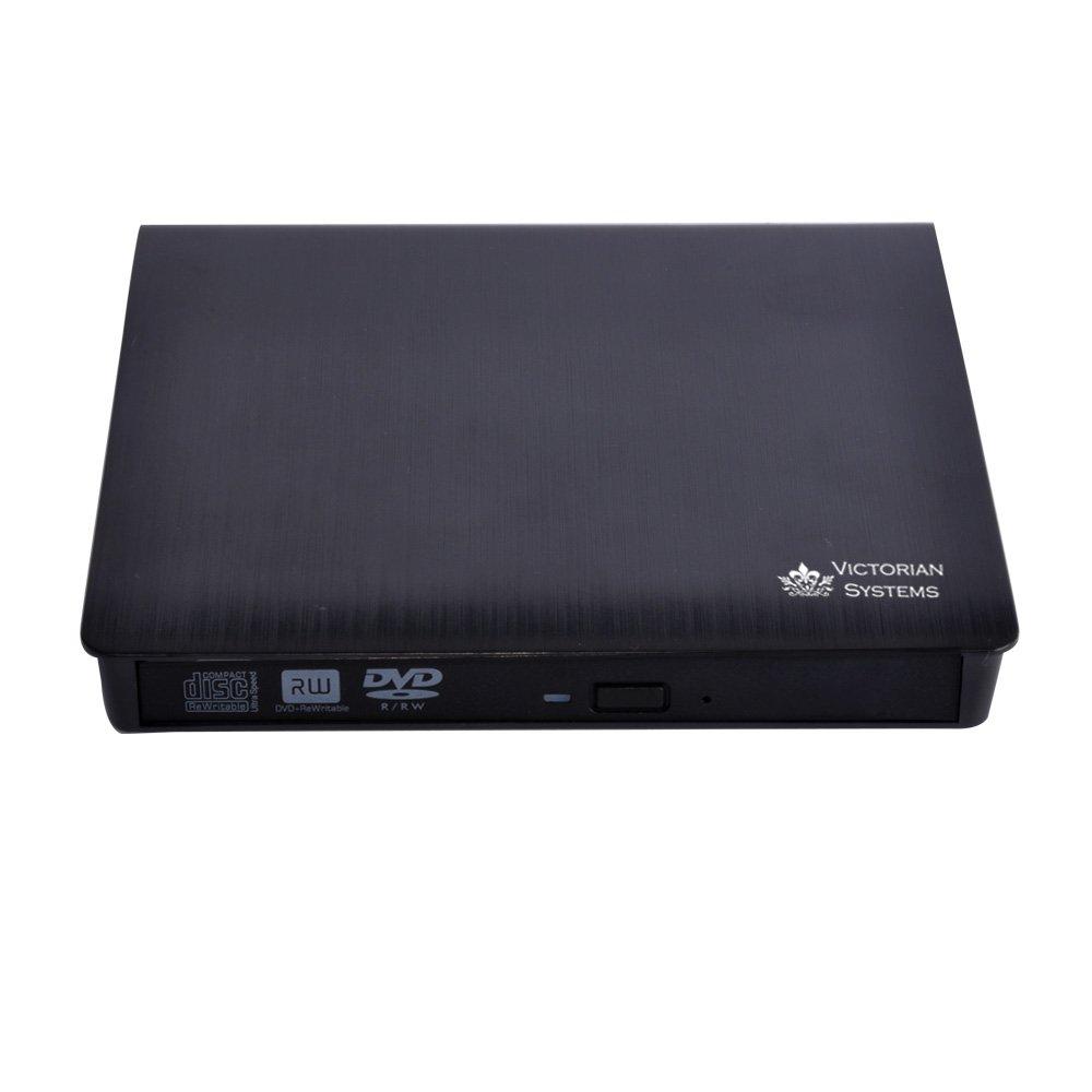 USB 3.0 portátil externo delgado de la unidad de DVD RW CD-RW DVD CD Burner escritor copiadora lector, unidad óptica regrabable para todo el ordenador ...