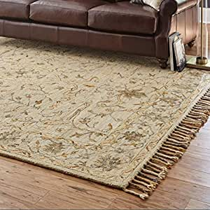 Amazon Com Stone Amp Beam Cooper Vintage Motif Wool Area