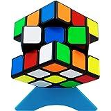 QiYi 3x3 立体パズル 世界基準配色 ver.3.0【6面完成攻略書付き】競技用 ポップ防止 知育玩具