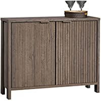 Sauder International Lux Sideboard in Fossil Oak