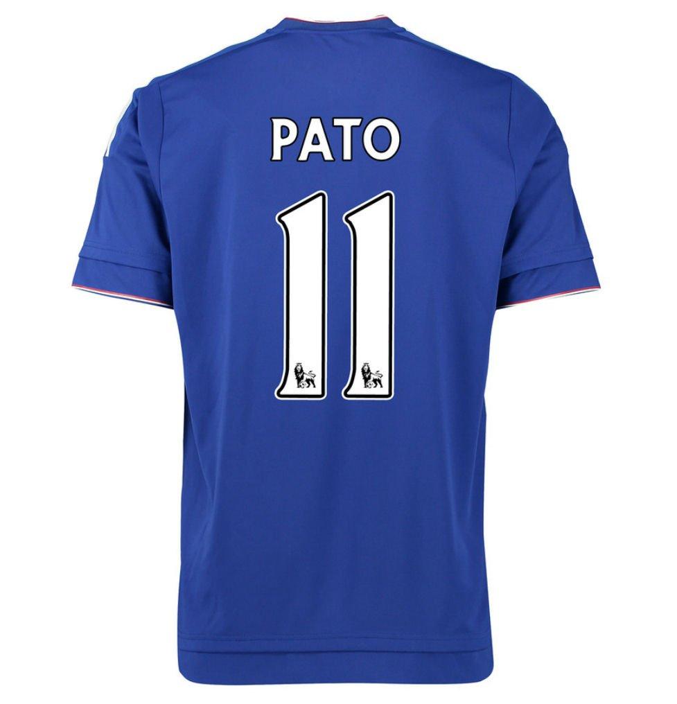 2015-16 Chelsea Home Football Soccer T-Shirt Trikot (Alexandre Pato 11) - Kids