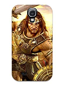 New Premium CharlesRaymondBaylor Video Game Age Of Conan Skin Case Cover Excellent Fitted For Galaxy S4