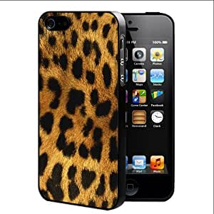 Exotic Leopard Animal Print Hard Snap On Cell Phone Case Cover (iPhone 5 5s)