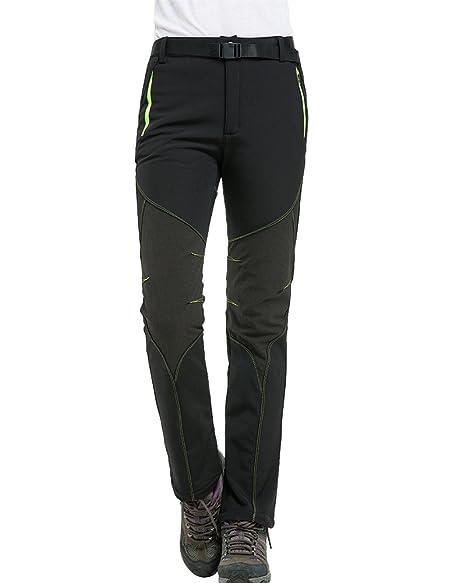 ed6f9c0d33473 Jessie Kidden Softshell Trousers Womens-Winter Fleece Lined Trousers, Waterproof  Hiking Pants, Outdoor