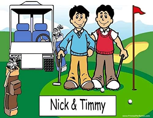 Amazon Com Personalized Golfing Buddies Download Print At Home Use Online Make Crafts Gifts Golfer Tournament Trophy Posters Prints