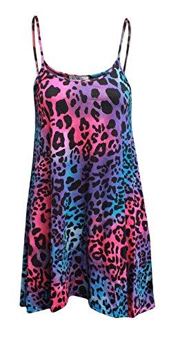 Fashion Less 36 Taille C Multi 4 patineuse Leopard 54 Robe r5rXq