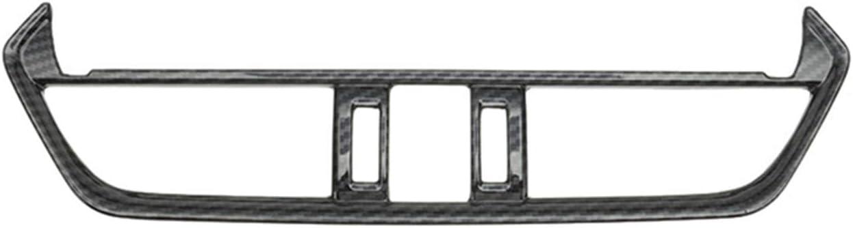1pc Tocatus for 2019 2020 Toyota RAV4 Center Console Air Conditoner AC Outlet Vent Trim